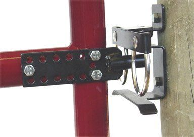 Dare Products 3260 Quot Two Way Quot Universal Gate Latch Black By