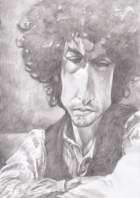 Bob Dylan by Joen