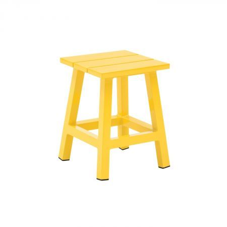 Piano Small Stool Yellow | Domayne Online Store