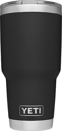YETI Rambler Tumbler - 30 fl. oz. Black 30 Oz