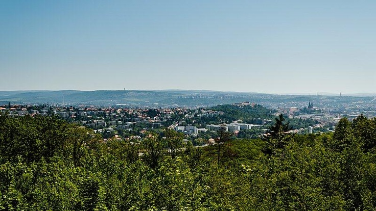 View to the city