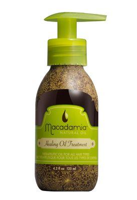 Healing Oil Treatment von Macadamia - duftet himmlisch und lässt das Haar strahlen!