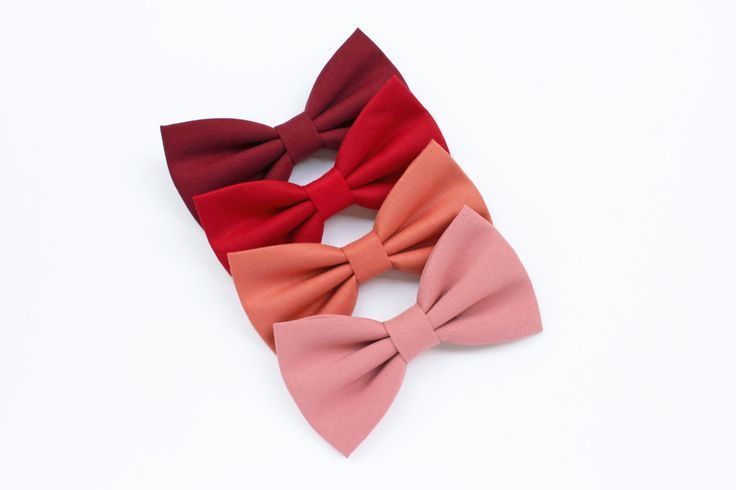 Burgundy bow tie for men,red,salmon,pink,bow tie marsala,peach,fishing,summer 2016 wedding,for newlyweds ceremony accessories,groom tie,ties