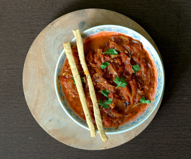 Tomato Sambal- a Spicy Tangy Sauce