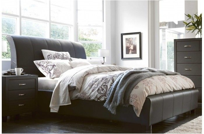Amy Leather Lift Queen Bed