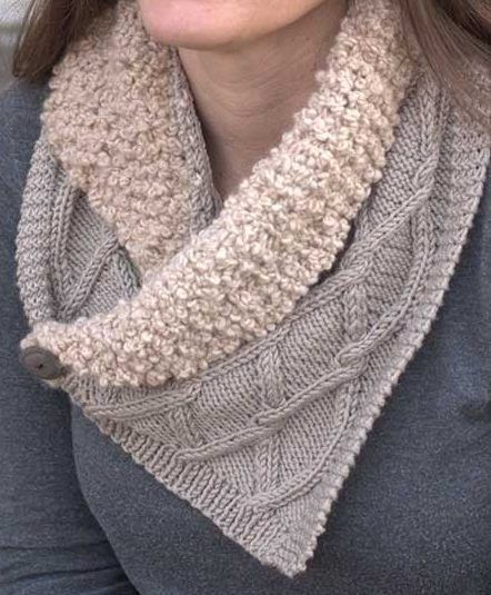 Knitting Pattern for Collared Scar