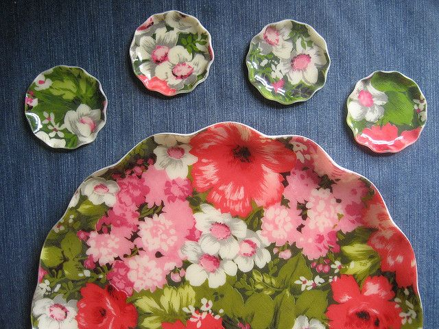 beautiful Glenwood Hardy FAB tray and coasters   Made in Barrie, Ontario, Canada
