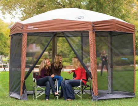 Coleman 12 x 10 Instant Screened Canopy & Best 25+ Screened canopy ideas on Pinterest | Outdoor shade ...