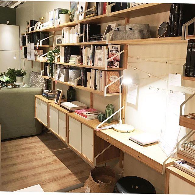 Risultati Immagini Per Ikea Svalnas Salotto Cn Libreria