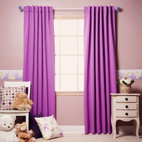 Sweet Violet Bedroom Curtain Photos Collection : Charming Violet Bedroom  Curtain With Light Pink Wall Painting And Light Pink Desk Drawers For Cute  Girls ...