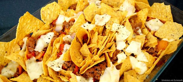 Schokokuss und Zuckerperle: Taco-Auflauf