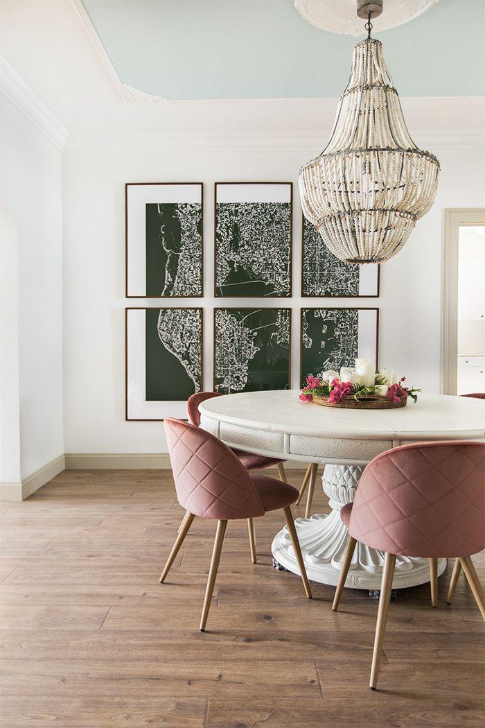 Dining room reveal riverside retreat jenna sue design - Dining room wall decor ...