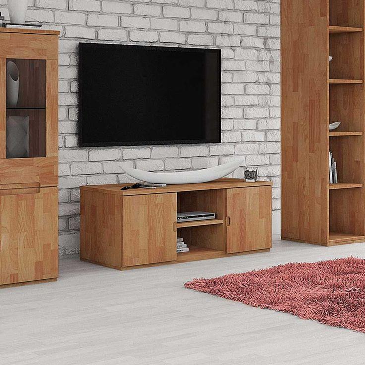 Trend TV Board aus Buche Massivholz ge lt Jetzt bestellen unter https moebel ladendirekt de wohnzimmer tv hifi moebel tv lowboards uid udcc aab e b