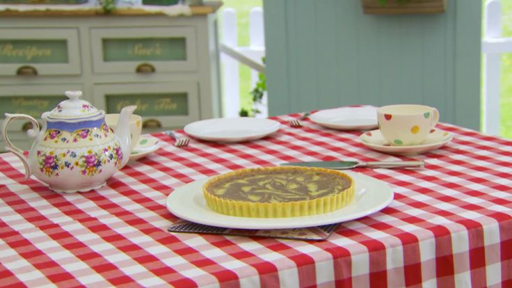 This chocolate orange tart recipe is Mary's interpretation of the signature challenge in the Pies & Tarts episode of Season 1 of The Great British Baking Show.