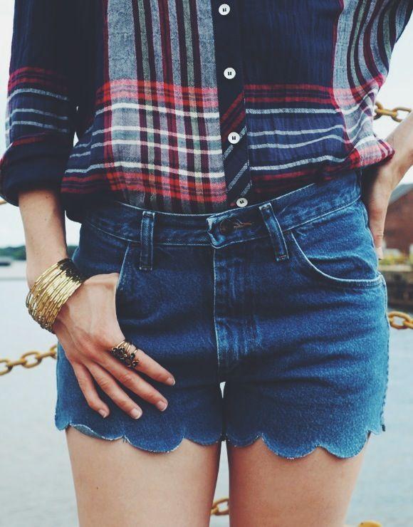 3 façons de transformer un vieux jean en short