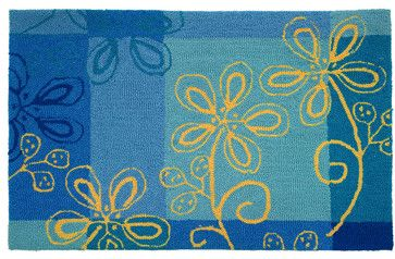 Fargo Blue Rug transitional rugs