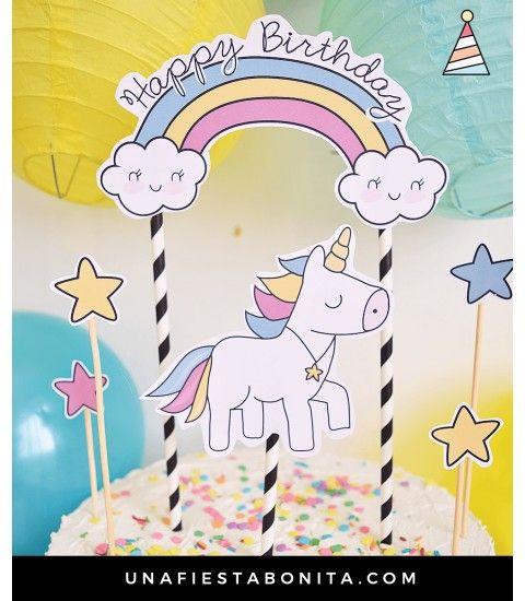 1000 ideas sobre fiestas de cumplea os unicornio en for Decoracion para la pared de unicornio