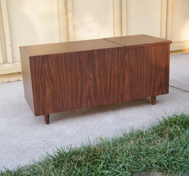 Vintage mid century blanket chest by 15degrees on etsy for Vintage sites like etsy