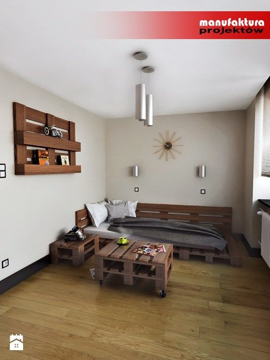 łóżko + stolik