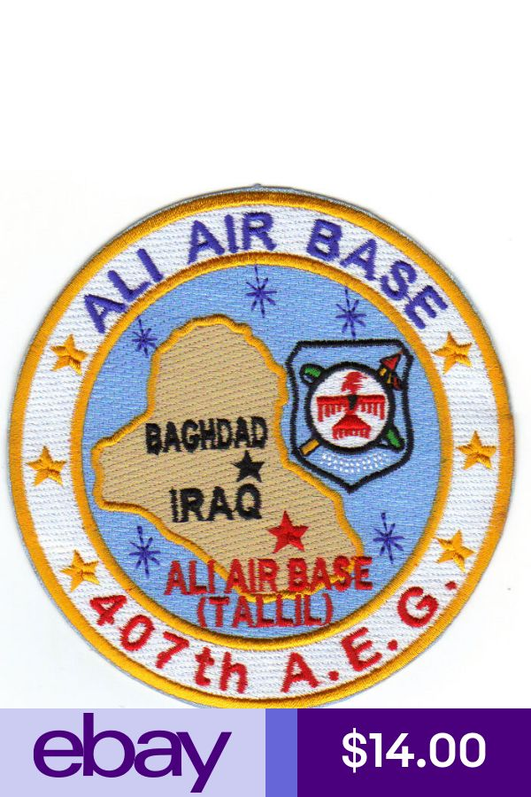 Air Force Collectibles ebay Patches, Baghdad iraq, Air