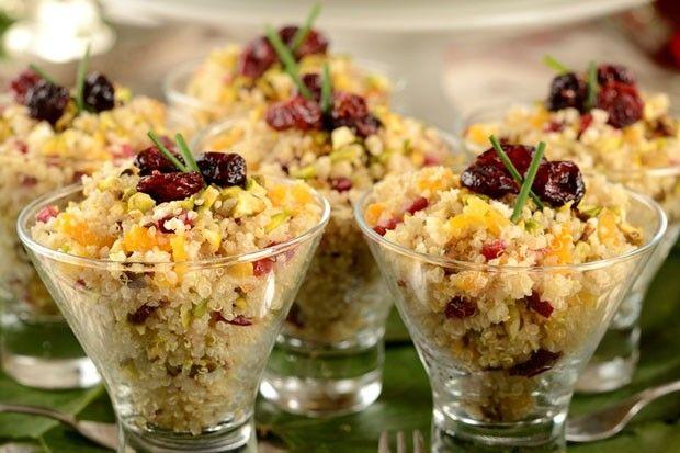 Com legumes, mix de castanhas e frutas secas, o prato fica nutritivo e extremamente saboroso