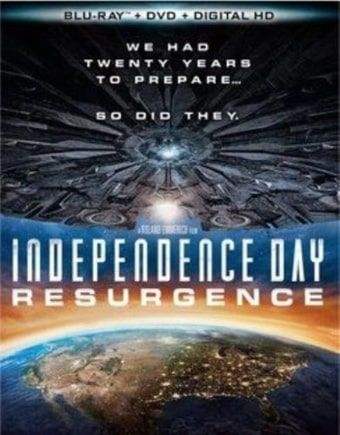Independence Day: Resurgence (Blu-ray   DVD) (2016) Starring Bill Pullman, Jeff Goldblum, Judd Hirsch, Brent Spiner
