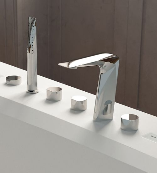 Teuco Outline Bath With Skidoo Bath Taps
