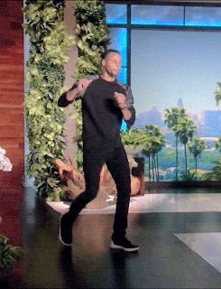 stephdotcurry: Stephen Curry Dancing on The Ellen Show