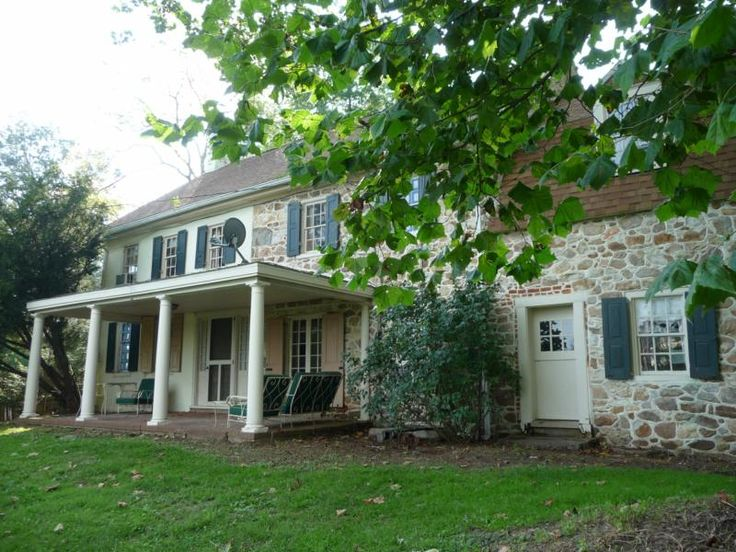 Historic Stone House And Mill For Sale In West Grove