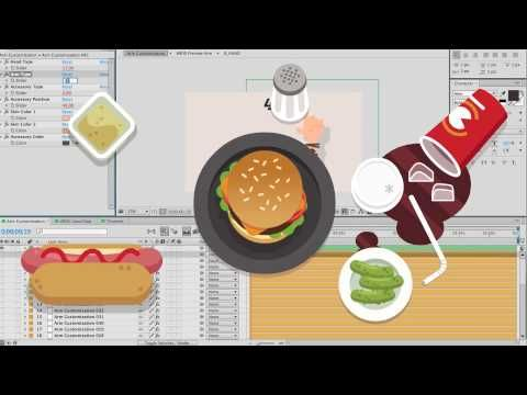 Food & Hands Explainer | After Effects Template | Royalty Free Video - YouTube