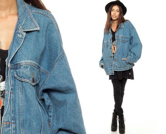 53 best Oversized denim jacket ... images on Pinterest