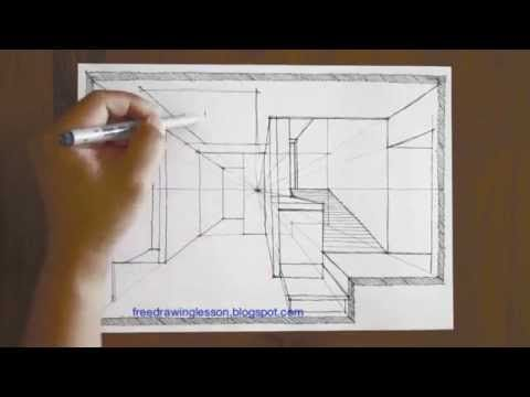 17 best images about perspective spaces to draw on for Modern house 2 point perspective