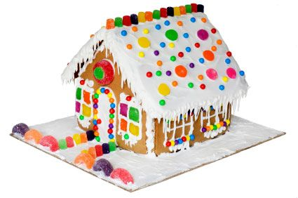 making gingerbread houses :)