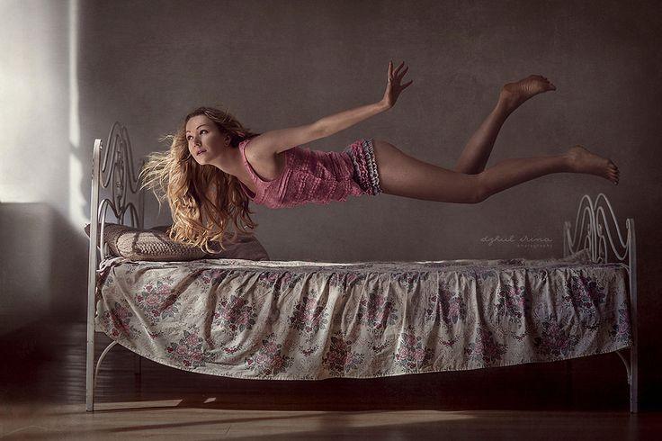 Voorbeeld levitatie fotografie