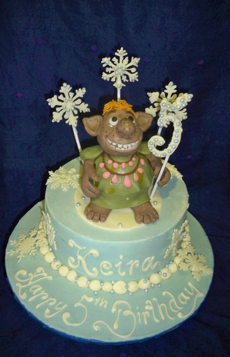frozen kids cake