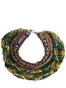 Anita Quansah London - Reva Necklace | FashionJug.com