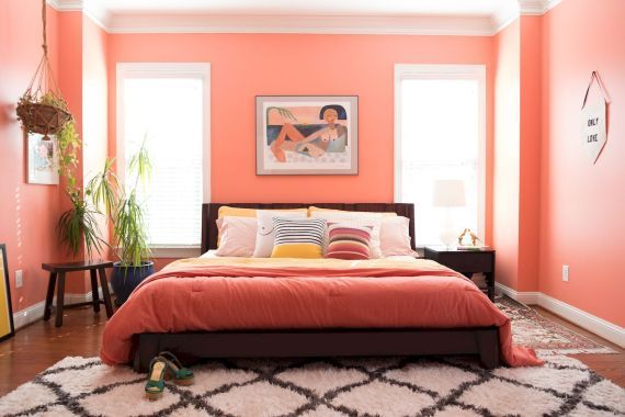 Coral Room Ideas in 11 (With images)  Coral room, Coral living