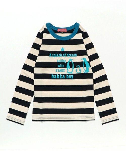 ペンギンプリントボーダーTシャツ [1483093924-11646] - 5,416円 : 人気、激安、限定商品を多数取り揃えています!