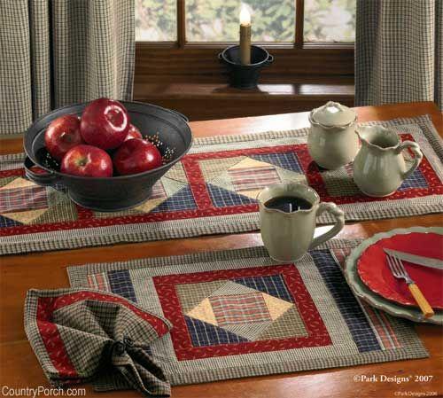 Cabin Quilt Kitchen Decorating Theme