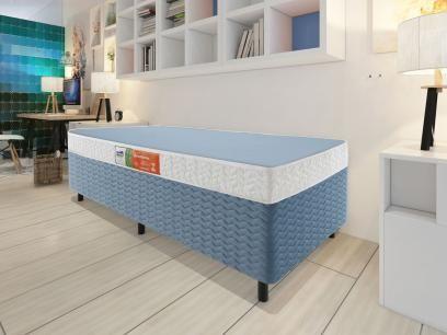 Box para Colchão Solteiro Celuplás 29cm de Altura - Color Block Box Color com as melhores condições você encontra no Magazine Ofertaeproduto. Confira!