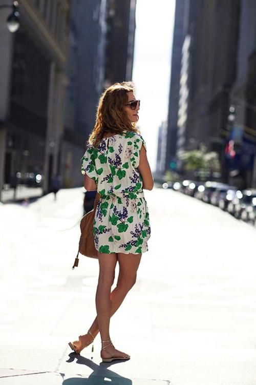 More and more floral.