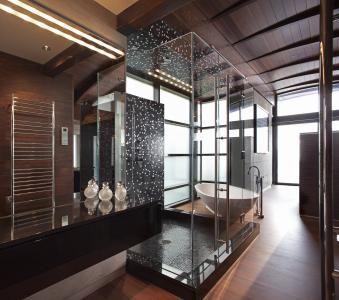 trendsideas.com: architecture, kitchen and bathroom design: Glittering master bathroom