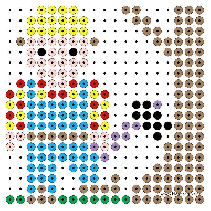 Bob der Baumeister  Bügelperlen /  Bob the builder perler beads