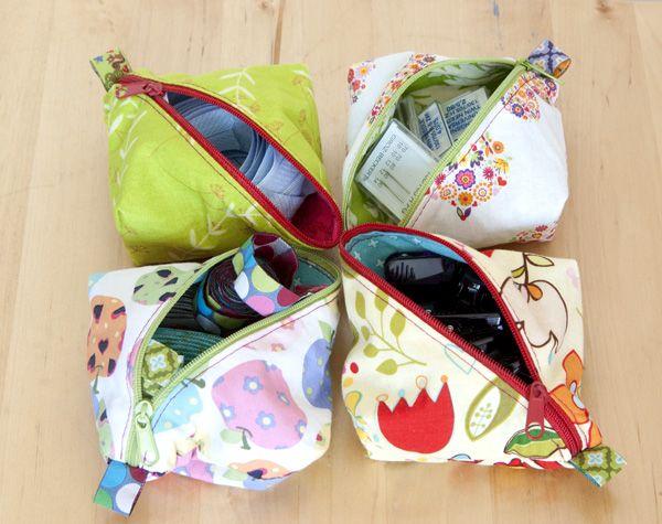 Nähanleitung für eine kleine Tasche – Freebook Lola (Marja Katz ...