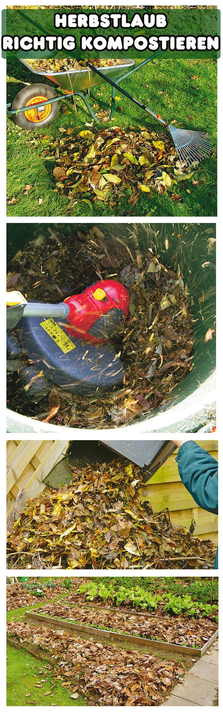 Laub ist nicht einfach zu kompostieren. Es verrottet nur schwer, weshalb es vor dem Kompostieren zerkleinert werden sollte. Mulchen oder die Flächenkompostierung im Garten ist die bequemste Art, Laub loszuwerden.