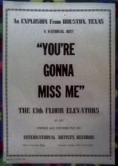 17 best images about 13th floor elevators on pinterest for 13th floor elevators you re gonna miss me