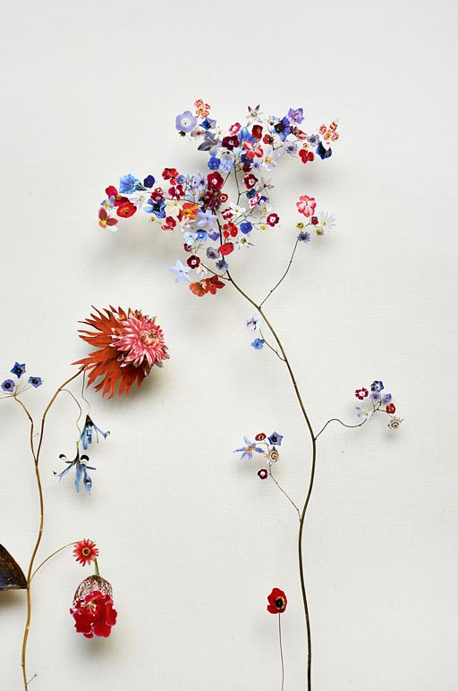 Flower constructions anne ten donkelaar
