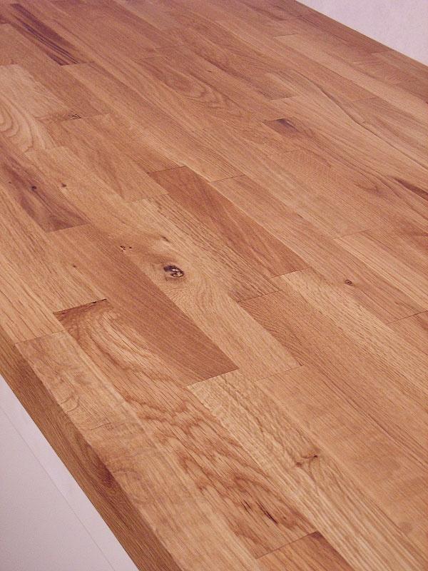 Küchenarbeitsplatten online  Arbeitsplatte / Küchenarbeitsplatte Wildeiche / Eiche rustikal 40 ...