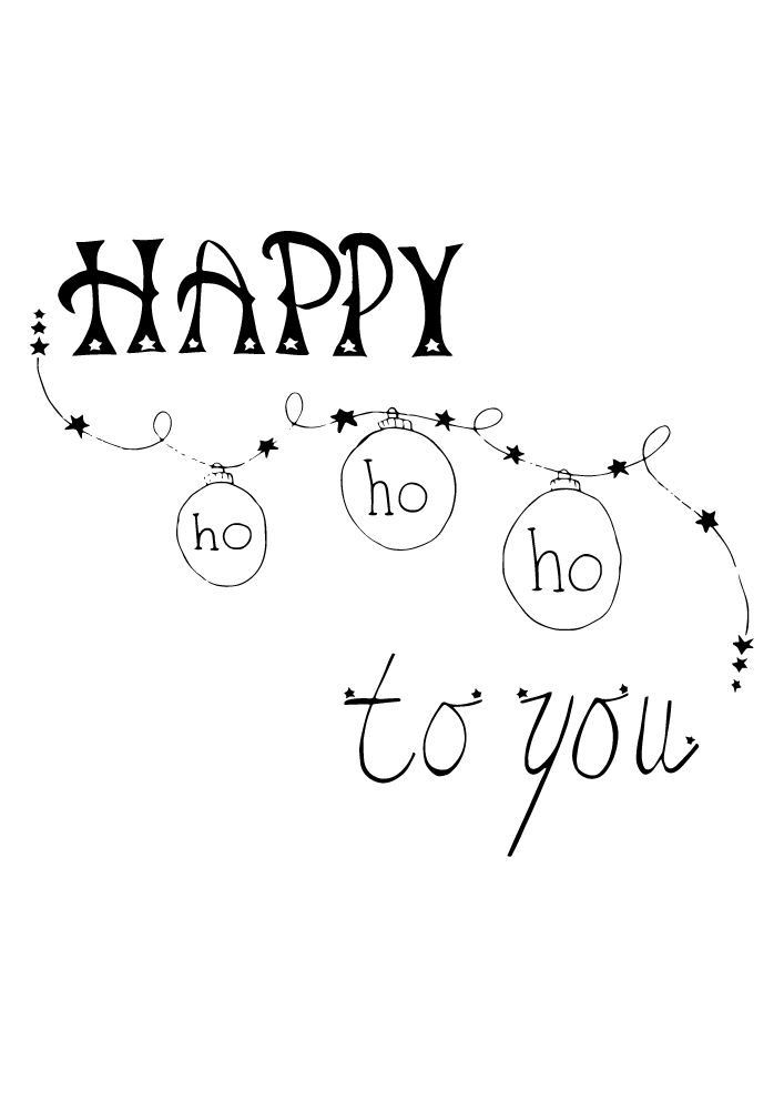 Happy ho-ho-ho to you. Workshop handletteren volgen? Dit kan bij Sterrig.