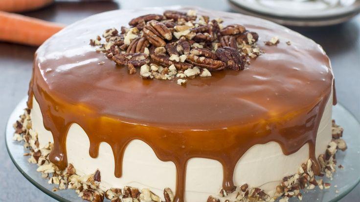 Caramel Carrot Cake Recipe